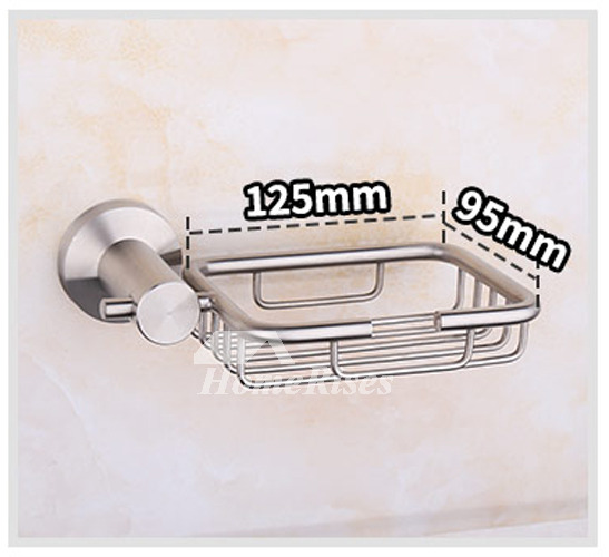 ZS Best 304 Stainless Steel Wall Mounted Draining Soap Dish