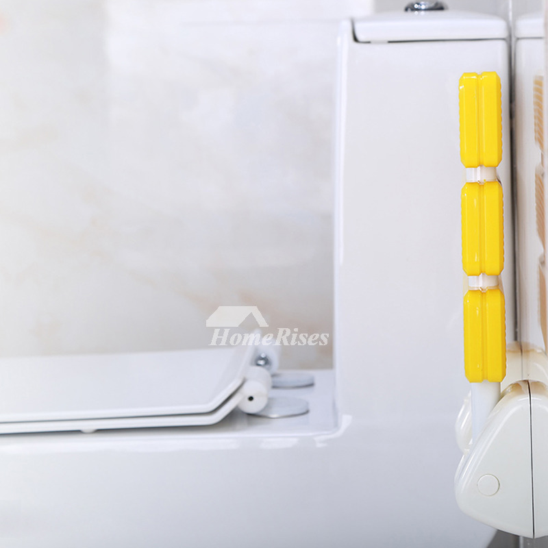 Simple High Strength Plastic Wall Mounted Folding Shower Seat