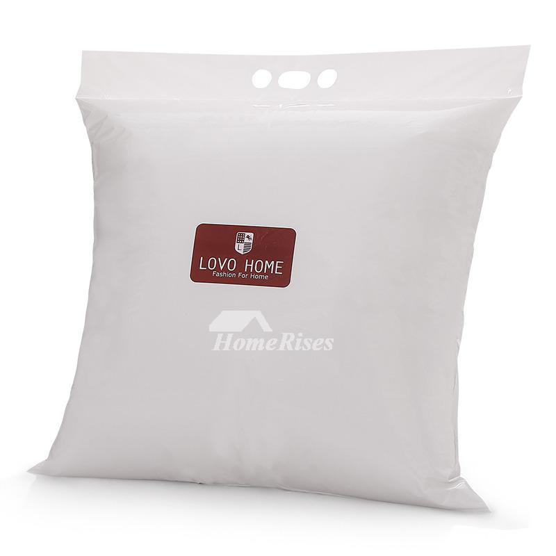 Cute Big Pillows : Cute Cartoon Square Large Couch Orange Throw Pillows