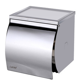 Modern 304 Stainless Steel Wall Mounted Toilet Paper Holder