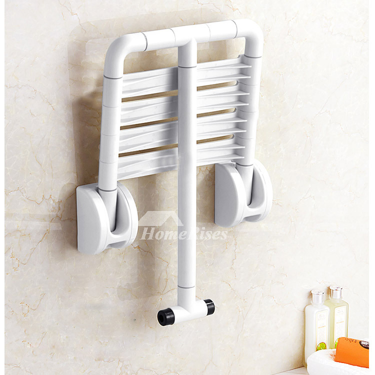 Stainless Steel and ABS Plastic Folding Wall Mounted Shower Seat