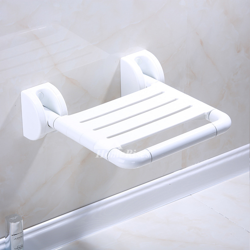 HN Wall Mounted Stainless Steel Folding Shower Seats For Elderly