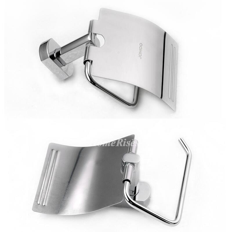 Wall Paper Holder jm simple chrome wall mounted brass toilet paper holder