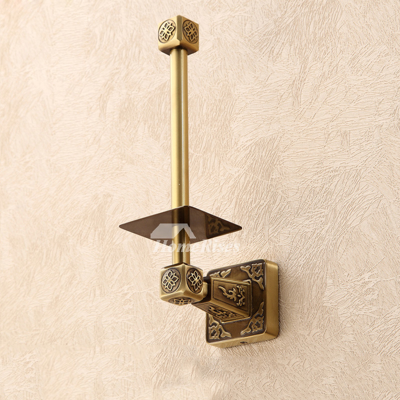 Ltj Antique Bronze Luxury Wall Mounted Brass Toilet Paper