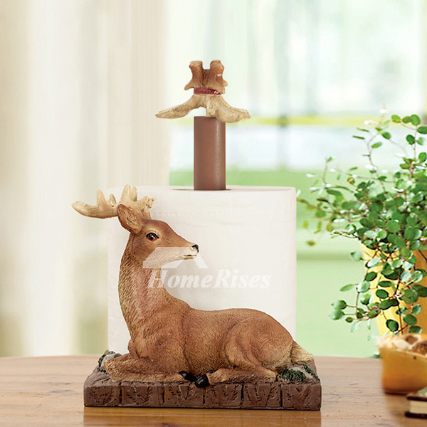 3d Wooden Deer Head
