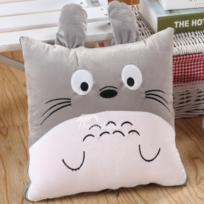 Brilliant Cute Vertical Ear Cat Couch Animal Grey And White Throw Pillows Pillow Core Not Included Cjindustries Chair Design For Home Cjindustriesco