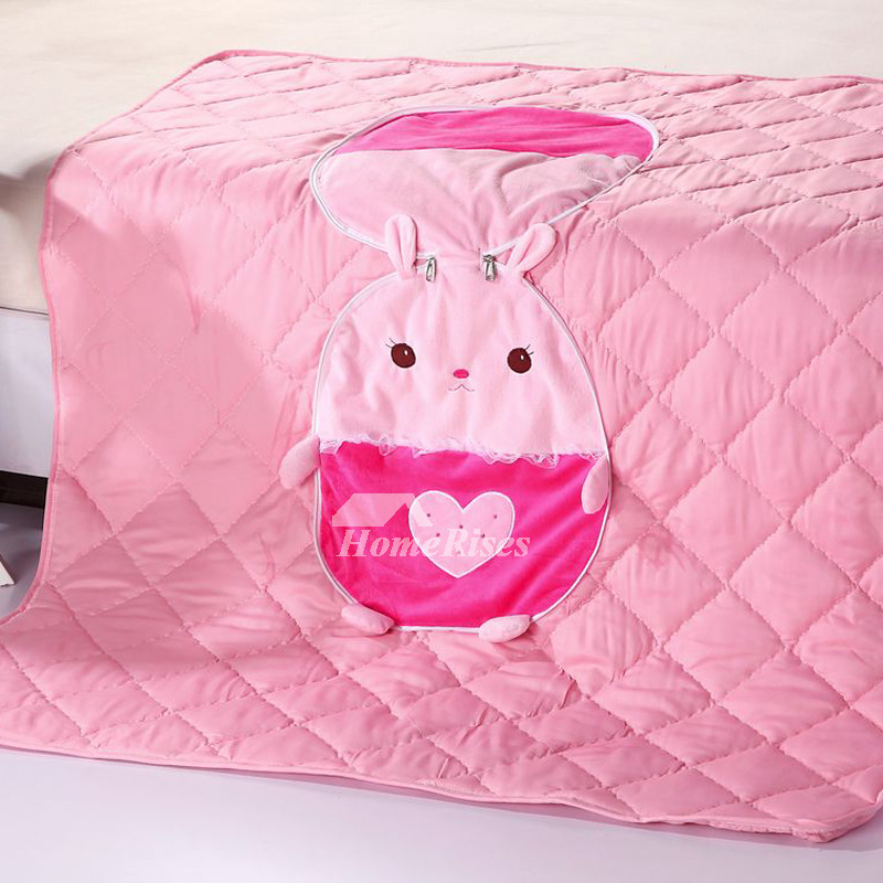 Cute Neutral Throw Pillows : Cute Rabbit Plush Couch Anima Pink Throw Pillows