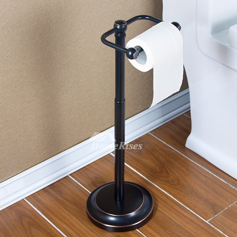 Black Adjustable Oil Rubbed Bronze Free Standing Toilet