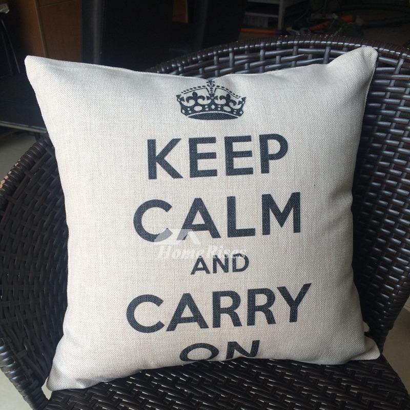 Linen Monogram Throw Pillow: Designer Modern Gray Monogrammed Linen Couch Cheap Throw