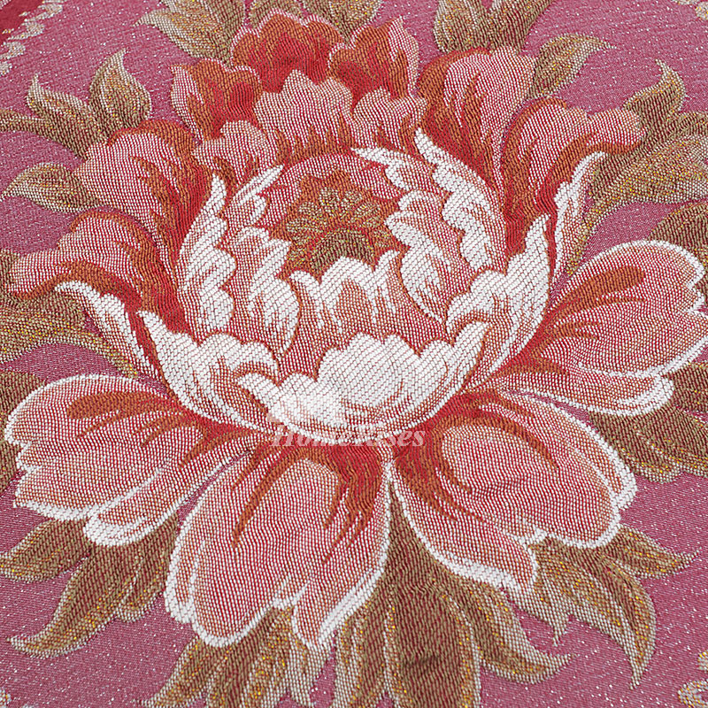 luxury Vintage Red Floral Velvet Best Throw Pillows For Couch