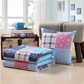 Modern Plaid Cotton Couch Memory Foam Colorful Throw Pillows