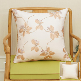 Country Cream Floral Tree Couch Best Throw Pillows