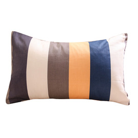 Modern Colorful Striped Cotton 25cm*40cm Throw Pillows