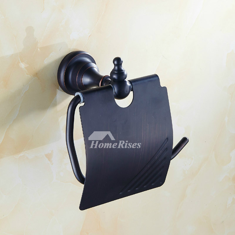 European Oil Rubbed Bronze Toilet Paper Holder Wall Mount