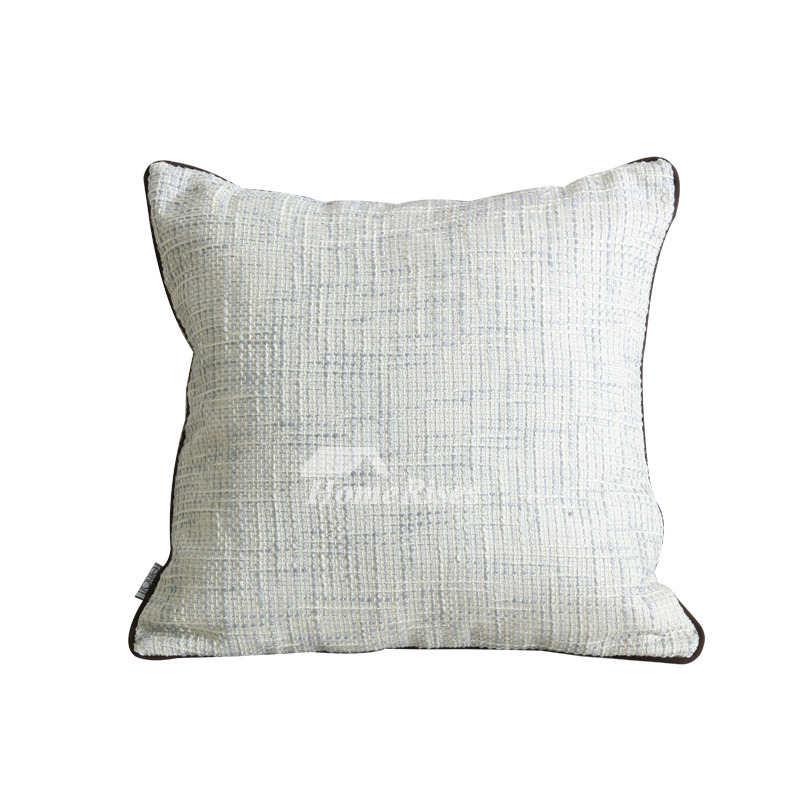 Modern Solid Color Polyester Fiber White Throw Pillows For Couch Pillow Core Not Included