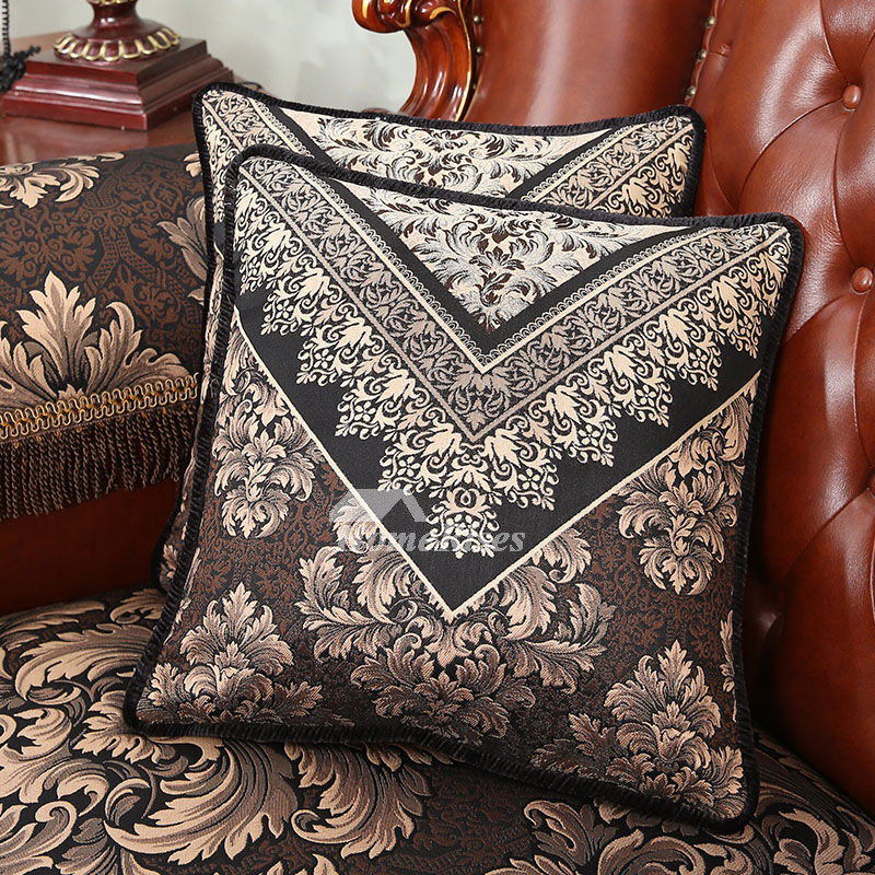 luxury vintage floral best black throw pillows for couch