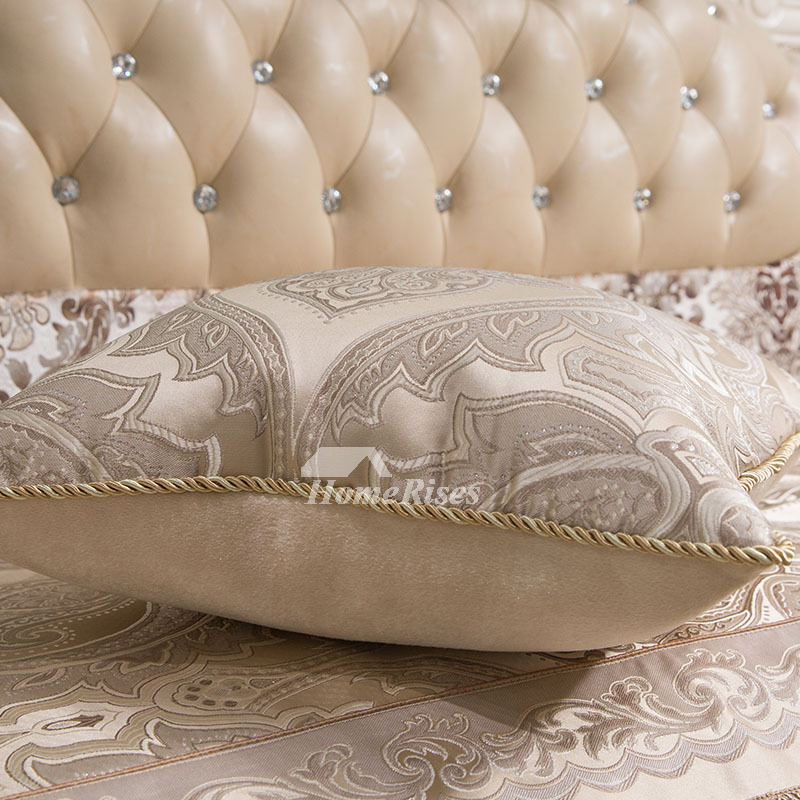 luxury Vintage Floral Couch Best Cream Throw Pillows