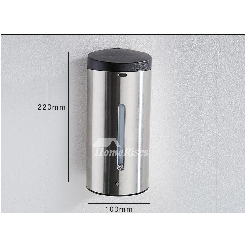 Touchless Soap Dispenser Stainless Steel Battery Type Hanging