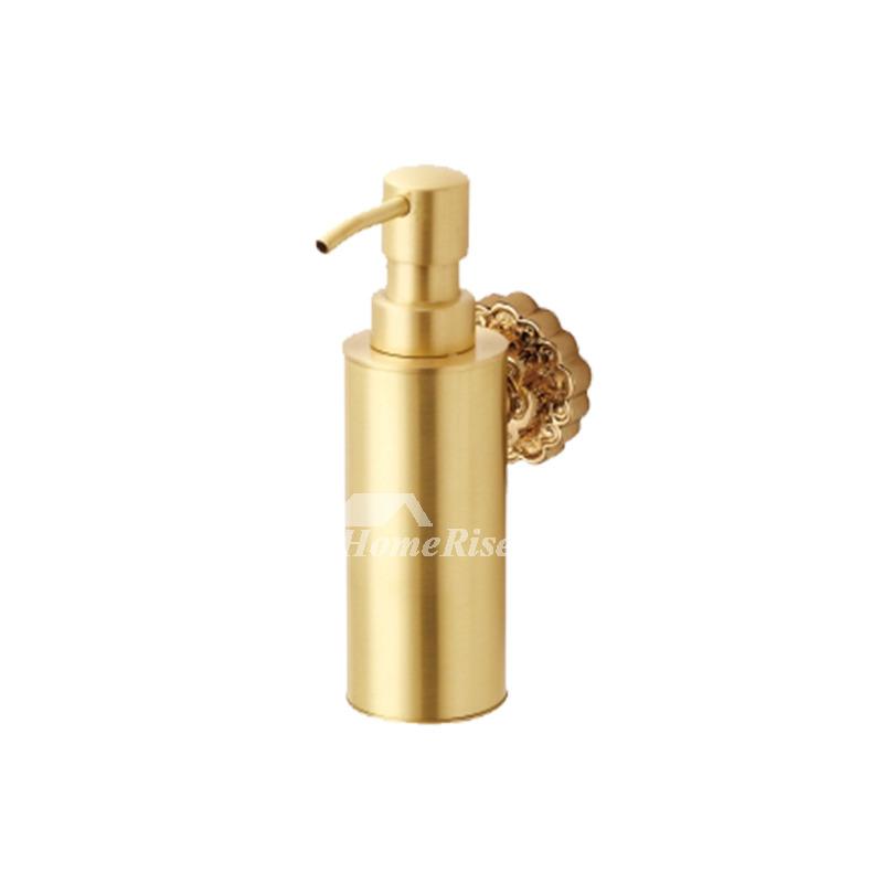 Ltj Antique Brass Soap Dispenser Wall Mount Polished