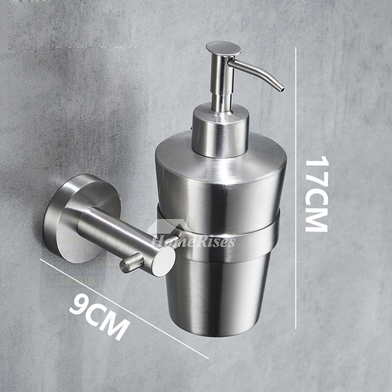 Push Type Soap Dispenser Bottle 304 Stainless Steel