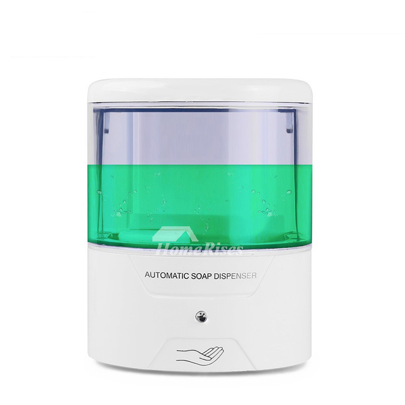 Best Automatic Hand Soap Dispenser White ABS Touchless 600ml