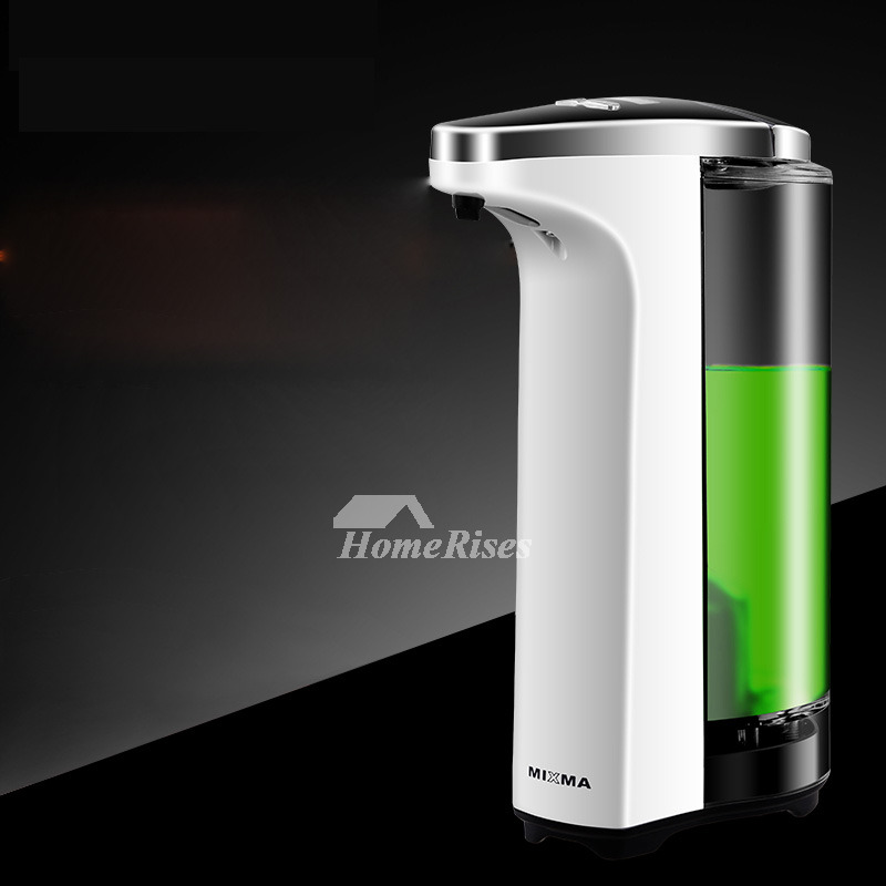 Automatic Soap Dispenser For Home 400ml Free Standing Battery