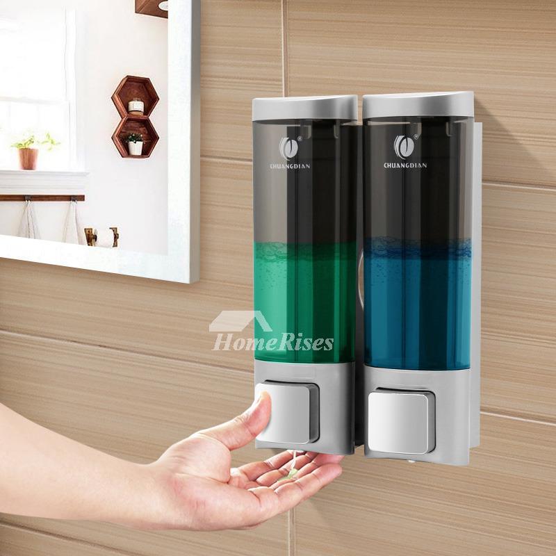 Wall Mounted Hand Soap Dispenser Press Type 400ml