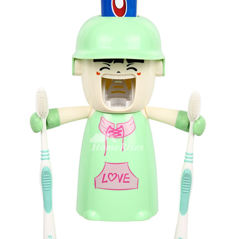Toothbrush Holder Kids Toothpaste And Toothbrush Holder