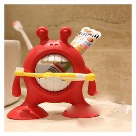Decorative Kids Toothbrush Holder Free Standing Big Mouth