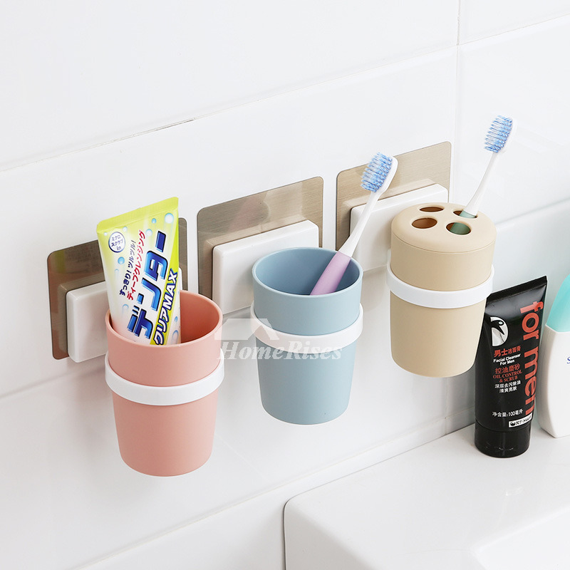 Suction Toothbrush Holder 3 Piece Abs Pp