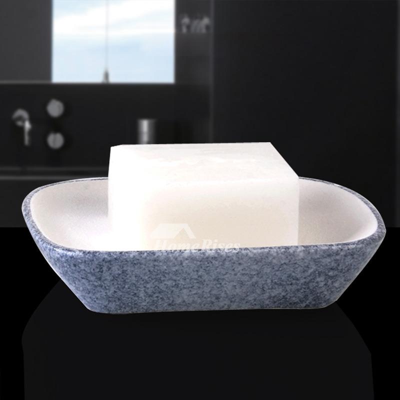 Simple Ceramic Soap Dish For Shower Free Standing Enamel