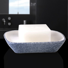 Simple Ceramic Soap Dish For Shower Free Standing Enamel