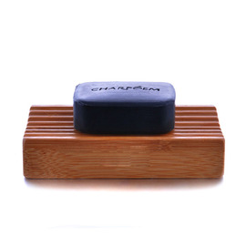 Simple Wooden Soap Dish Free Standing Rectangular Shaped