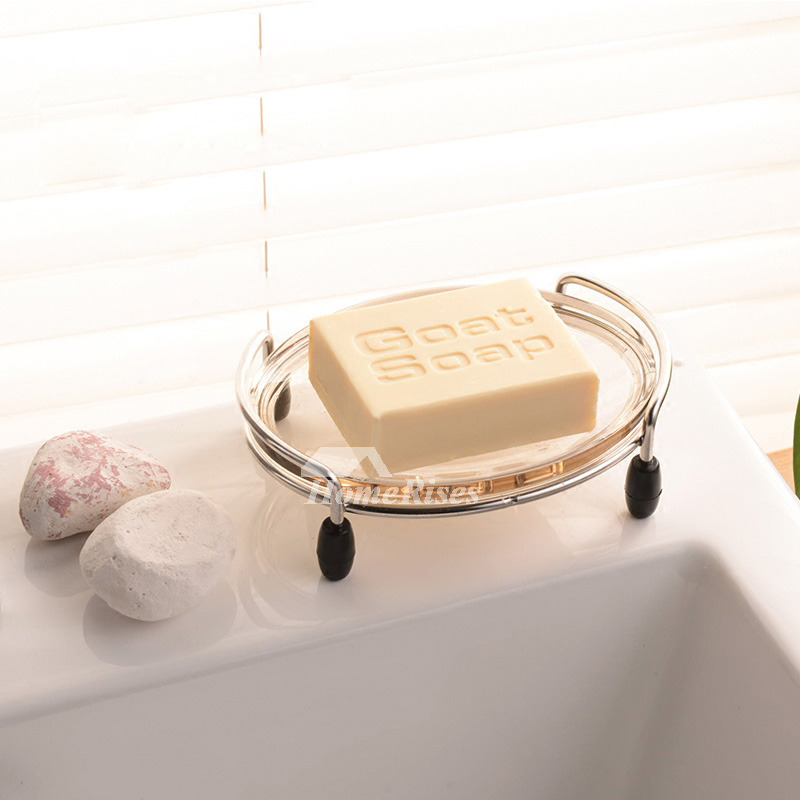 Clawfoot Rectangular Shaped Stainless Soap Dish