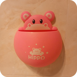 Cute Suction Cup Kids Toothbrush Holder