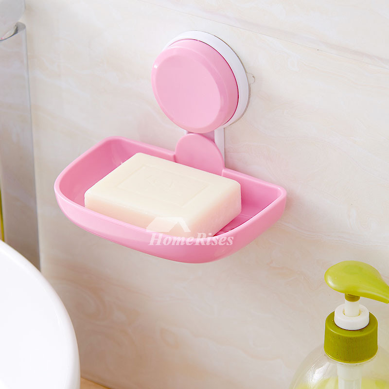 Suction Soap Dish For Shower Rectangular Shaped