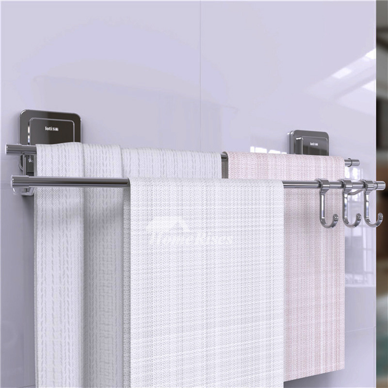 Best Double Layer No Drill Towel Rack For Bathroom
