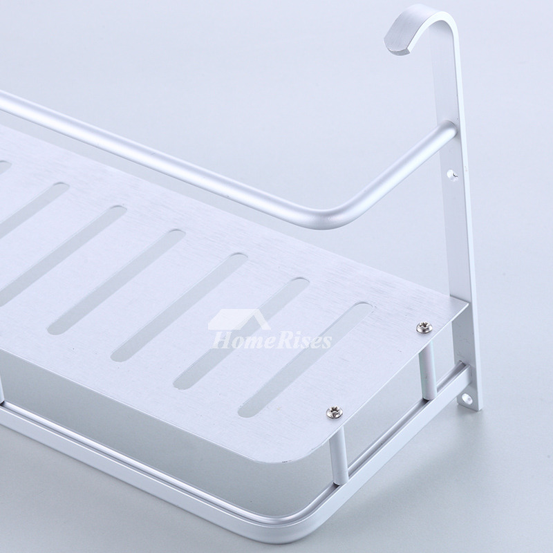 Quality small bathroom shelf wall mount aluminum for Quality bathroom decor