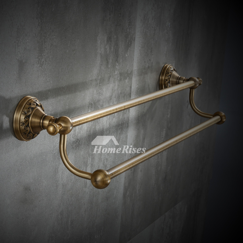Wall Mounted Towel Rack Carved Wall Mount Aluminum
