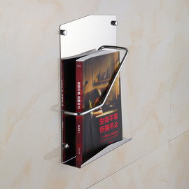 Chrome Quality Stainless Steel Wall Mount Toilet Paper Holder Shelf