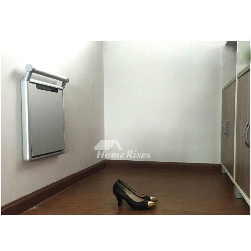 Wall Mounted Shower Seat Aluminum Alloy Painting