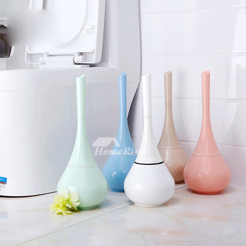Smooth Free Standing Plastic Toilet Brushes And Holders
