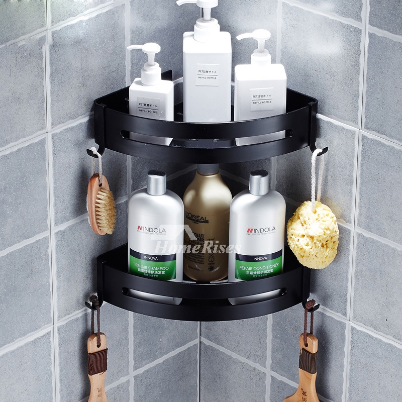 Black Bathroom Shelves – why should you opt for these accessories ...