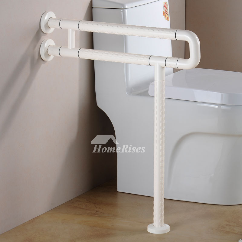 floor mounted grab bars for bathrooms designer wall mount white painting grab bars for toilet 25261