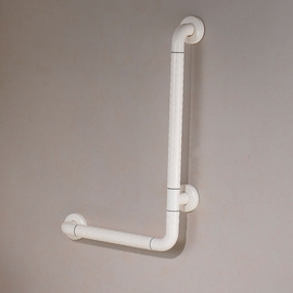 Designer Wall Mount White Painting Grab Bars For Toilet