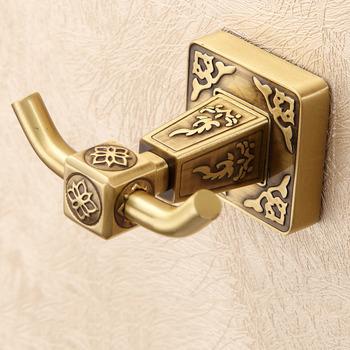 Double Brass Robe Hook