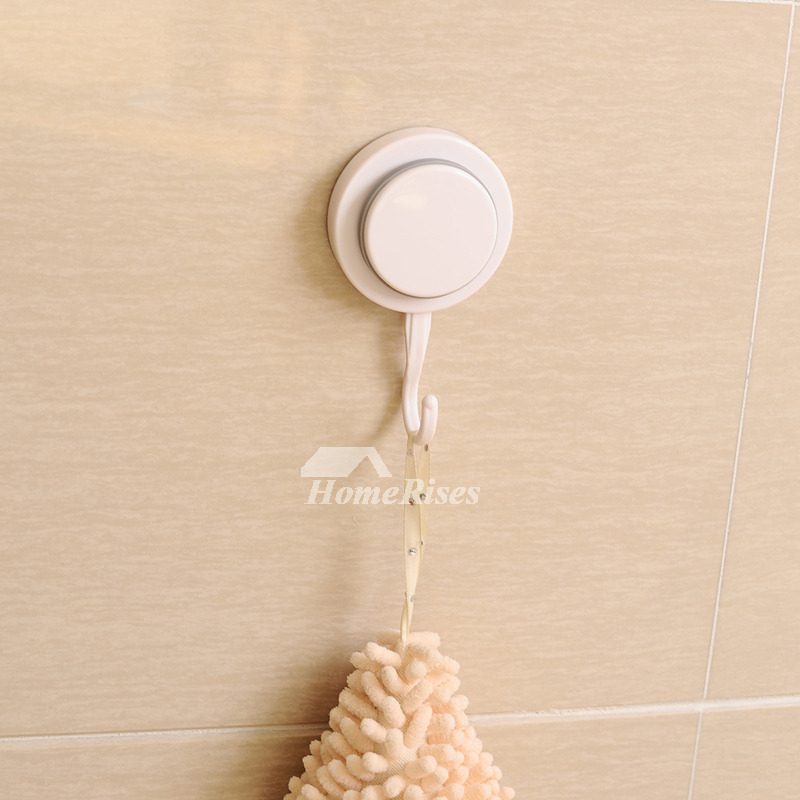 Good Quality Suction Cup Painting White Robe Hook