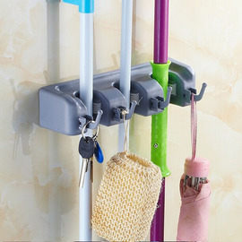 Simple ABS Plastic Silicone Mop Frame Hooks For Towels In Bathroom