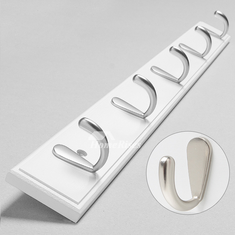 Pictures Show. Bamboo White Painting Modern Bathroom Towel Hooks ...