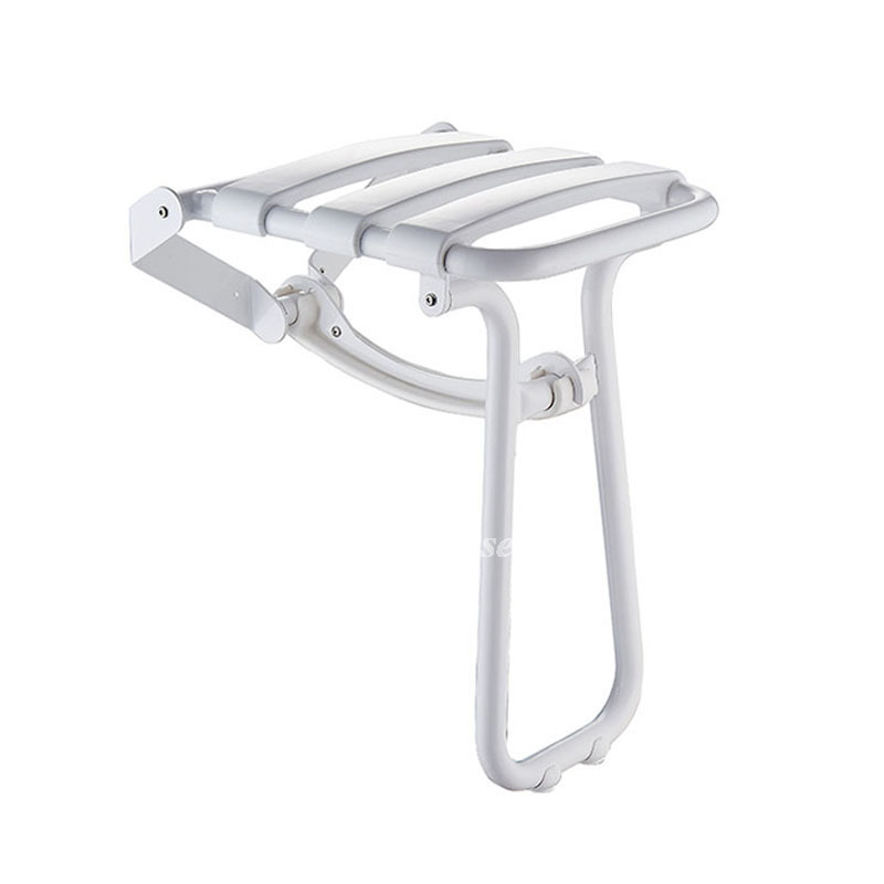 Good Stainless Steel Folding Shower Chair Wall Mount